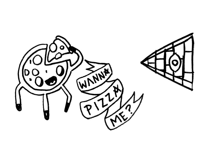 Pizza & Pyramid